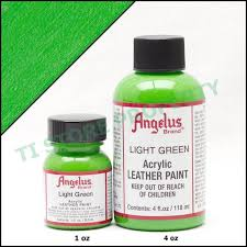 Angelus Acrylic Shoes Boots Handbags Leather Paint Dye 1 Oz 29 5 Ml