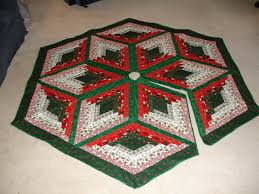 Christmas ~ Christmas Tree Skirt Free Xmas Pattern Sewing ... & Full Size of Christmas: Best Christmas Tree Skirt Images On Pinterest Free Quilted  Xmas Patternpattern ... Adamdwight.com