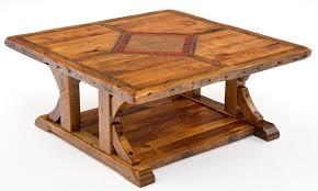 ... Table with Inlaid Wood & Metal Design. ;