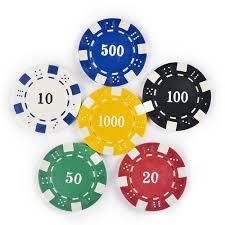 200 Diced Poker Chip Set