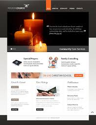 Modern Website Templates Mesmerizing Graceful Church Christian Website Templates Entheos
