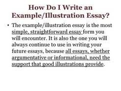 illustrative essay topic examples  illustrative essay topic examples