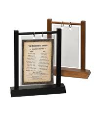 Restaurant Table Top Display Stands Display multiple products and services with a single tabletop 81