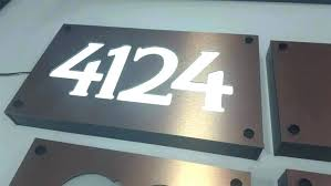 house number plaques modern design your own house number plaque house address numbers modern lighted street house number plaques