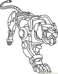 Small Picture Blue Lion Coloring Page Free Voltron Legendary Defender