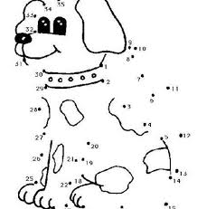 Small Picture Dot to do dot to dot cute dog coloring pages hellokids coloring