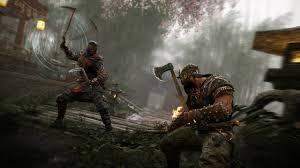 В игру for honor предлагают играть абсолютно бесплатно ru Все игроки сражаются холодным оружием в мультиплеере чаще всего они борются за контрольные точки и некоторые другие цели