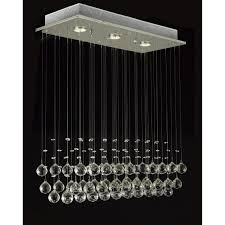luxury 3 light crystal hampton bay chandelier for home lighting idea