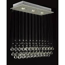 luxury 3 light crystal hampton bay chandelier for home lighting idea