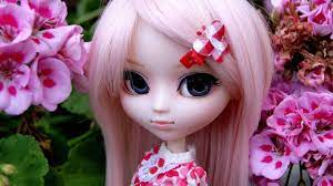 Pink Barbie Doll Hd Wallpaper