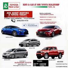 Alexander Toyota Rentals - Home   Facebook