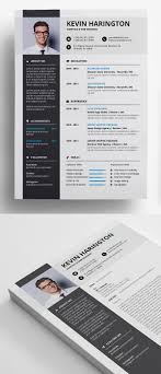 50 Free Cv Resume Templates Best For 2019 Idevie