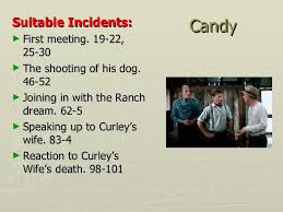 of mice and men revision key points candy