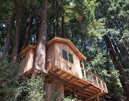 Hidden California  Treehouse InnsTreehouse Vacation California