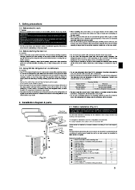 mitsubishi mr slim pea mxz 8a140va air conditioner installation manual mitsubishi mr slim pea mxz 8a140va air conditioner installation manual page 3