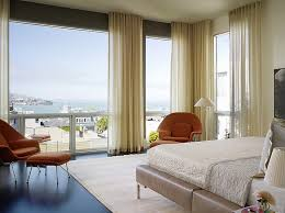 view in gallery minimalist ripple fold ds set the tone in this master bedroom