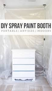 how to spray paint indoors build a diy spray paint booth in your garage