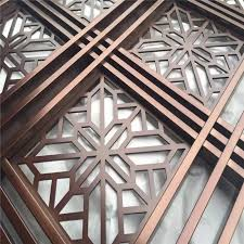 malaysia room divider stainless steel decorative metal outdoor