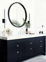 Impressive Design Ideas Black Bathroom Mirrors Best 25 ly