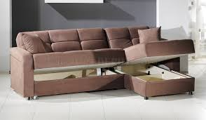 vision rainbow truffle sectional sofa bed by istikbal w storage