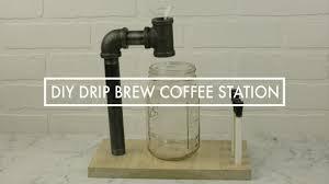 diy drip brew coffee station unique diy coffee station