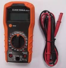 image is loading klein tools mm300 manual ranging digital multimeter