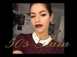 50s vine makeup tutorial how to get the perfect 1950s retro hair and makeup style you