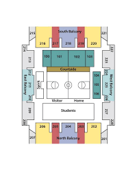 The Shell Wilmington Seating Chart Trask Coliseum Seating Chart Uncwsports Com