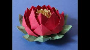 How To Make A Lotus Flower Out Of Paper Paper Lotus Flower Magdalene Project Org