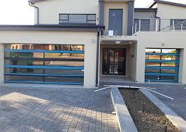 glass garage door e