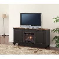 tv stand under 200. Contemporary Under 68 Inch Antique Black TV Stand With Fireplace  Brighton Hickory Throughout Tv Under 200 S