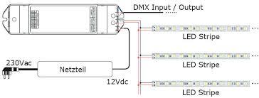 dmx led controller 512 1 channel decoder dmx512 pwm wiring diagram dmx led controller 1 channel