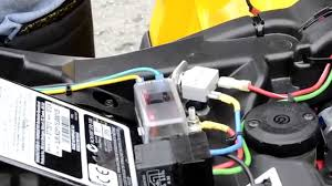 can am atv how to add an accessory fuse box youtube Car Fuse Box at Run Nan Fuse Box