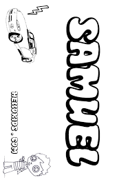 Small Picture Samuel coloring pages Hellokidscom