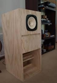 fostex fe206en back loaded horn loudspeaker enclosure