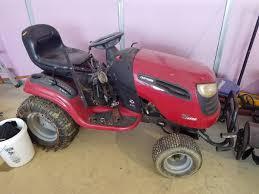 craftsman dgs6500 garden tractor with