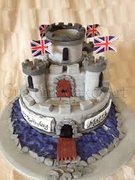 Boys Castle Cake From Custom Cake Art Wwwfacebookcomcustomcakeart