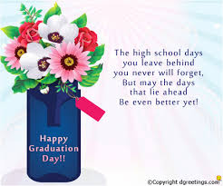 The High School Days You Leave Happy Graduation Card