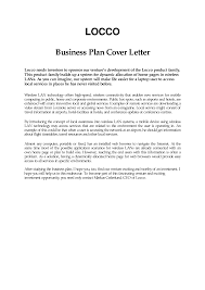 Business Plan Cover Letter Sample Free Career Center Bauer Home