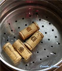 don t freak out if the cork absorbs water and swells a little bit in size you want this to happen this is what makes the cork easy to cut and without too