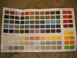 rustoleum paint color chartNew Enamel Colors from Rustoleum