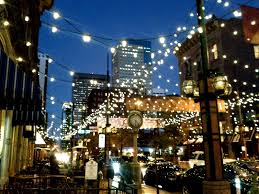 commercial outdoor string lights style