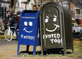 Image result for voted by mail picture