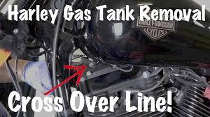 harley davidson gas fuel tank cross over line how to remove harley davidson gas fuel tank cross over line how to remove