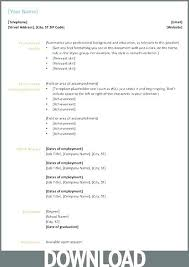 Microsoft Office 2003 Resume Templates Office Resume Templates Free