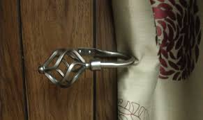 image of diy curtain holdbacks