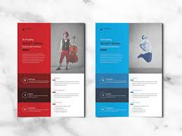 Indesign Flyer Template Free Corporate Flyer Free Indesign Templates For Designers
