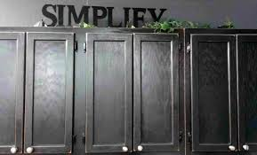 old wood kitchen rhonlyndoorcom wall mounted cabinet painted with black color ideasrhkinggeorgehomescom wall painting oak kitchen