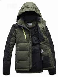 men s north face jackets down deep green coming