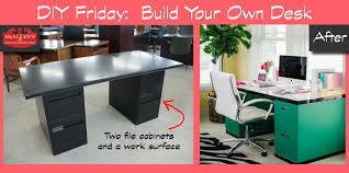 build your own home office. Build An Office Desk. Marvelous Homemade Desk Ideas Pics Design Inspiration T Your Own Home S